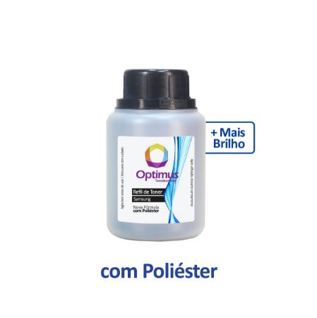 Refil de Pó de Toner Samsung SL-M2020W | M2020W | D111S Optimus 80g