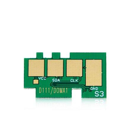 Chip Samsung SL-M2020W   M2020W   MLT-D111S   Laser Preto para 1.000 páginas