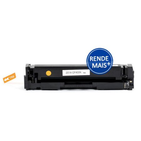 Toner HP M252dw | CF402X | 201X LaserJet Pro Amarelo Compatível para 2.300 páginas