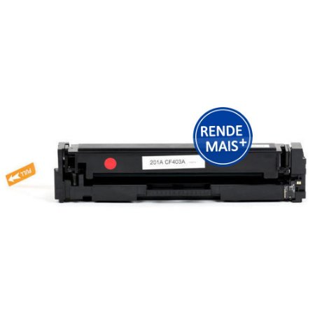 Toner HP M252dw   CF403X   201X LaserJet Pro Magenta Compatível para 2.300 páginas