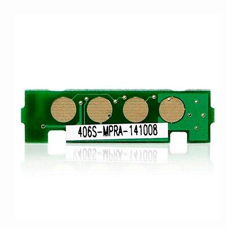 Chip Samsung CLX-3305W | 3305W | CLT-C406S | 406S Laserjet Pro Ciano para 1.000 páginas