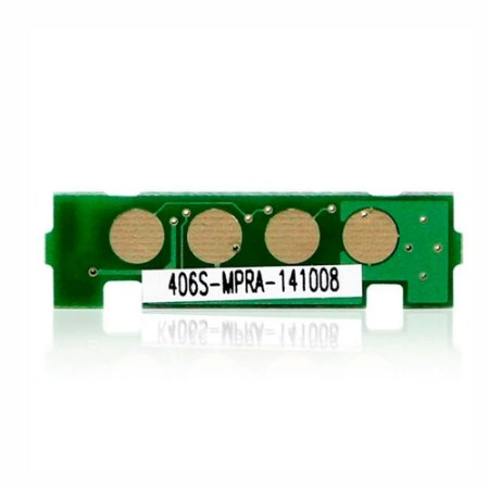 Chip Samsung CLX-3305W   3305W   CLT-M406S   406S Laserjet Pro Magenta para 1.000 páginas