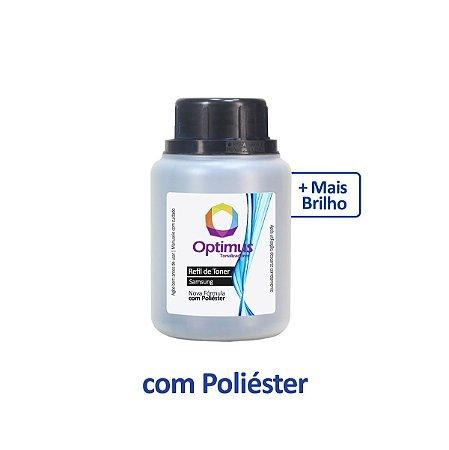 Refil de Pó de Toner Samsung CLX-3305W | 3305 | CLT-K406S Preto Optimus 75g