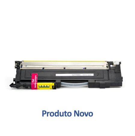 Toner Samsung CLP-365W | 365W | CLT-Y406S Laser Amarelo Compatível para 1.000 páginas