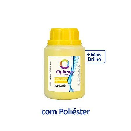 Refil de Pó de Toner Samsung C480W | SL-C480W | CLT-Y404S Amarelo Optimus 50g