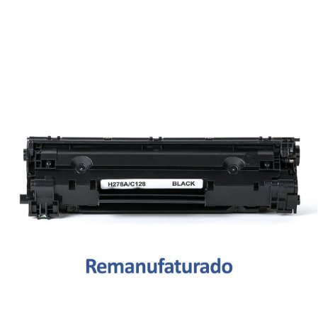 Toner HP CE278A   278 LaserJet Remanufaturado para 2.100 páginas