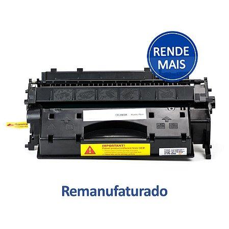 Toner HP 280 | 80X Laserjet Remanufaturado para 6.900 páginas