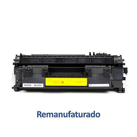 Toner HP CF280A   80A Remanufaturado para 2.700 páginas
