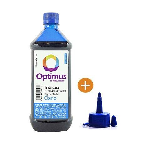 Tinta HP 964   HP 9010 OfficeJet Pro Ciano Pigmentada 1 litro