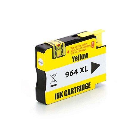 Cartucho HP 9020 OfficeJet Pro   HP 964   HP 964XL Amarelo Compatível