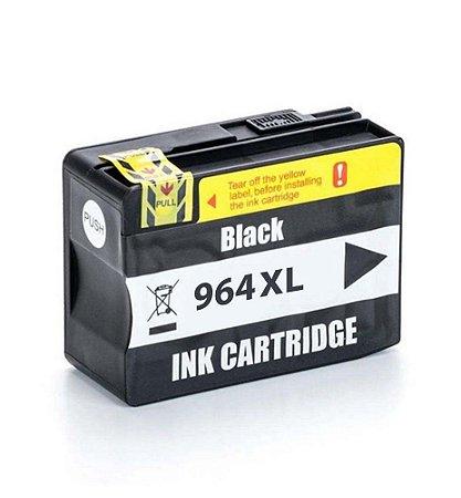 Cartucho HP 964 | HP 964XL | 3JA57AL OfficeJet Pro Preto Compatível