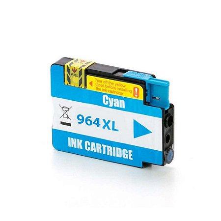 Cartucho HP 964 | HP 964XL | 3JA54AL OfficeJet Pro Ciano Compatível