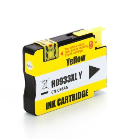 Cartucho HP 932XL   HP 932   CN056AL OfficeJet Amarelo Compatível