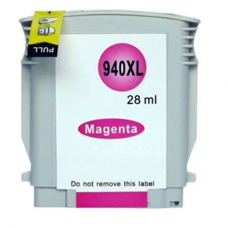 Cartucho para HP 8500A | Pro 8500 | HP 940XL Magenta Compatível 28ml