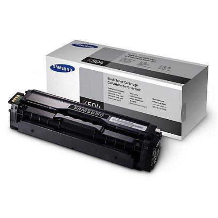 Toner Samsung CLP-415NW   CLX-4195FN    CLT-K504S Preto Original