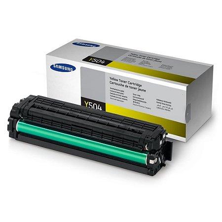 Toner Samsung C1810W | CLP-415NW | CLT-Y504S Amarelo Original