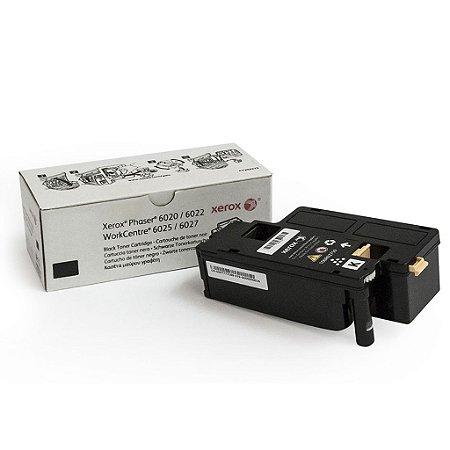 Toner Xerox 106R02763 | 6020 | 6027 Phaser Preto Original