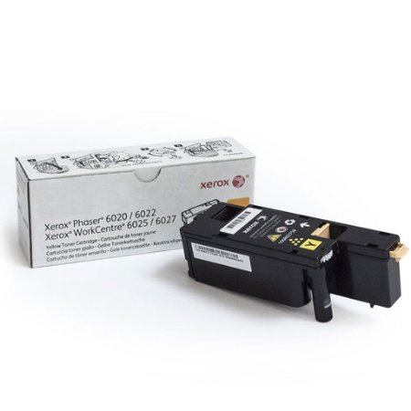 Toner Xerox 106R02762 | 6025 | 6022 WorkCentre Amarelo Original