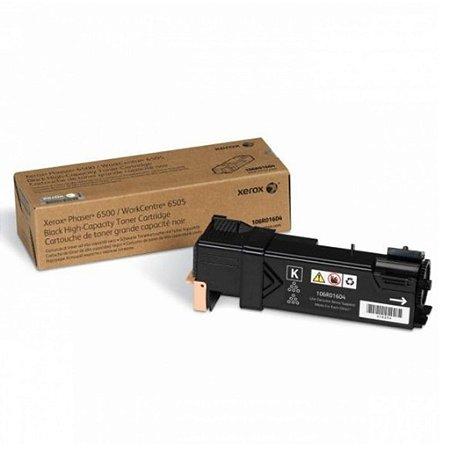 Toner Xerox 6505 | 6500DN | 106R01604 WorkCentre Preto Original