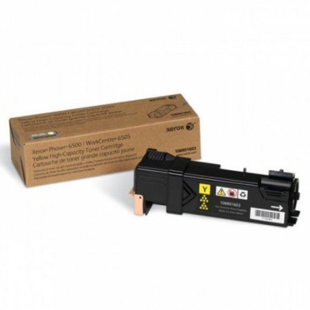 Toner Xerox 6500N | 6500 | 106R01603 Phaser Amarelo Original