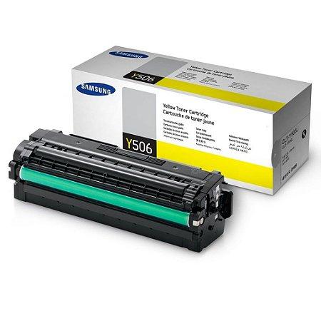 Toner Samsung CLT-Y506L | CLP-680ND | CLX-6260FR Amarelo Original