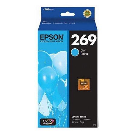 Cartucho Epson Expression XP-802 | 269 | T269220 Ciano Original 6ml