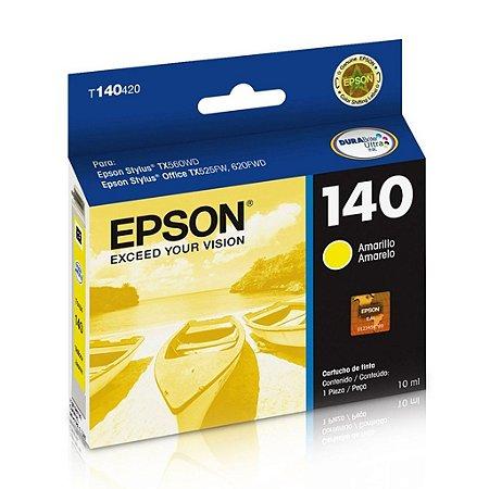 Cartucho Epson TX525FW | T42WD | 140 | T140420 Amarelo Original
