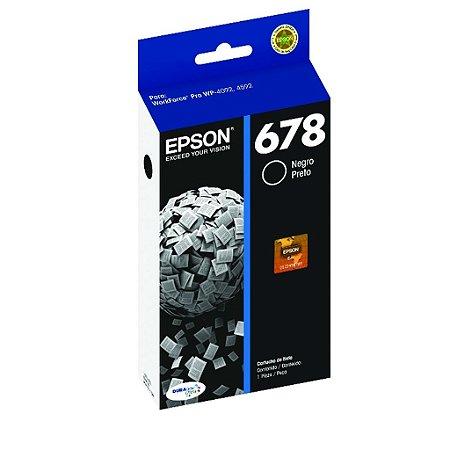 Cartucho Epson WorkForce Pro 4592   678   T678120 Preto Original
