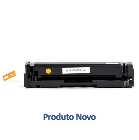 Toner HP 201A | CF402A LaserJet Pro Amarelo Compatível para 1.400 páginas