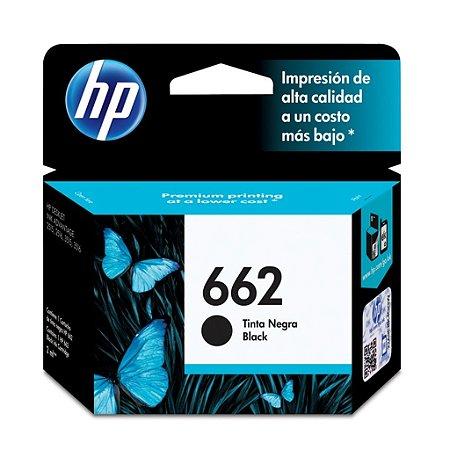 Cartucho HP 2546 | HP 3516 | HP 662 Preto Original 2ml