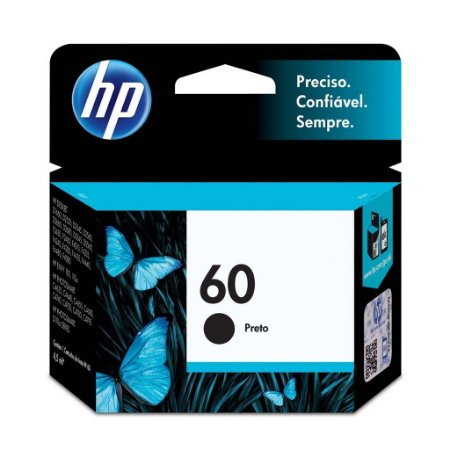 Cartucho HP F4280 | HP D2660 | HP 60 Preto Original 4,5ml