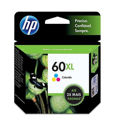 Cartucho HP D1660 | HP F4580 | HP 60XL Colorido Original