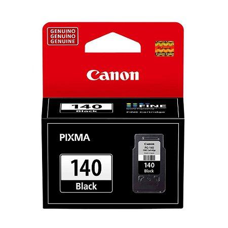Cartucho Canon PG-140 | MG3510 | MG3110 Pixma Preto Original 8ml
