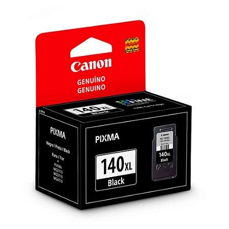 Cartucho Canon MG3610 | MG3510 | PG-140XL Preto Original 11ml