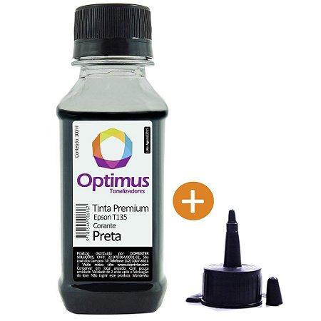 Tinta para Epson Stylus TX135 | TX125 | T135 Preta Corante Optimus