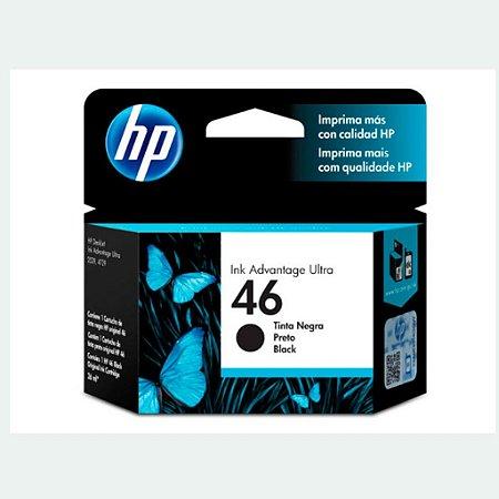 Cartucho HP 46 | HP 2529 | CZ637AL DeskJet Ink Preto Original