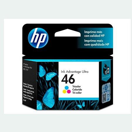 Cartucho HP 4729 | HP 46 | CZ638AL DeskJet Colorido Original