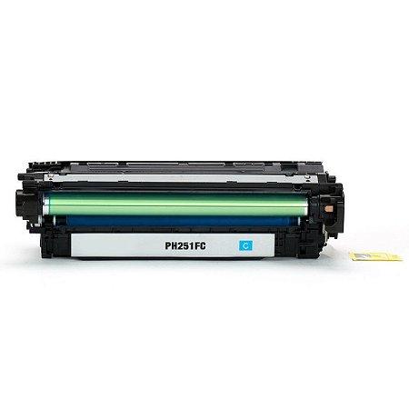 Toner HP CP5525 | M750n | CE271A LaserJet Ciano Compatível