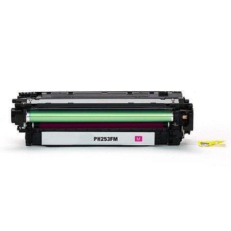 Toner para HP CP5525dn | CP5525n | CE273A LaserJet Magenta Compatível