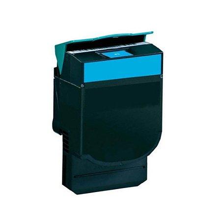 Toner Lexmark X544 | X543 | CX543dn | 540H1CG Ciano Compatível