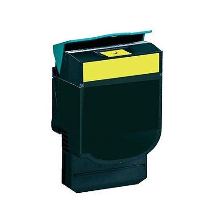 Toner Lexmark X548 | C544dn | X544dn | C540H1YG Amarelo Compatível