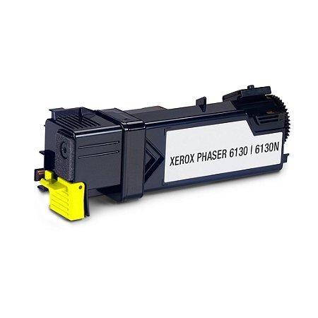 Toner Xerox Phaser 6130N | 6130 | 106R01280 Amarelo Compatível