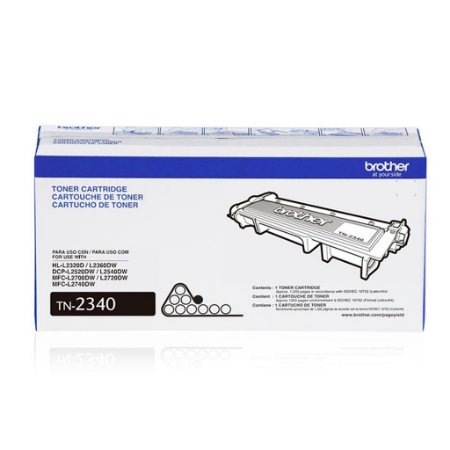 Toner Brother TN-2340 | DCP-L2520DW | HL-L2360DW Original