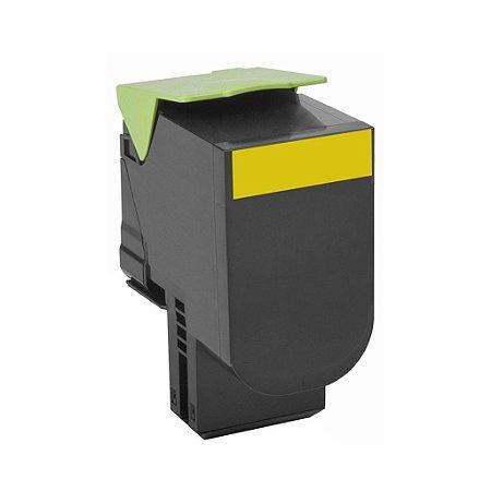 Toner Lexmark CX510de   CS410dn   70C8HY0 Amarelo Compatível