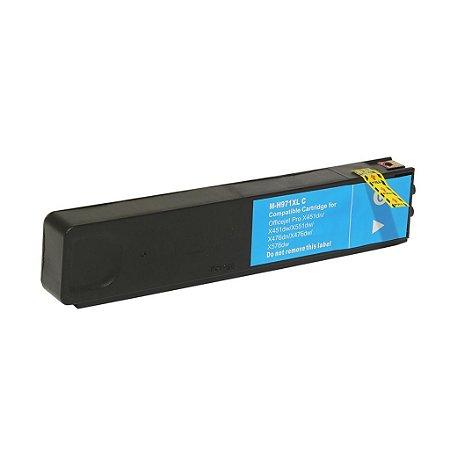 Cartucho para HP 971XL | X451dw | OfficeJet Pro Ciano Compatível