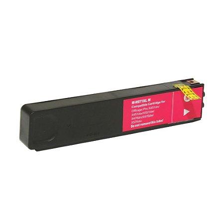 Cartucho para HP Pro X451dw   X576dw   HP 971XL Magenta Compatível
