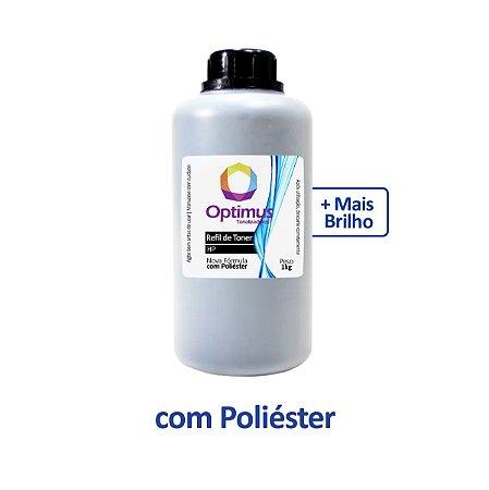 Refil de Toner HP 125A | HP CB540A | CP1518 LaserJet Preto Optimus