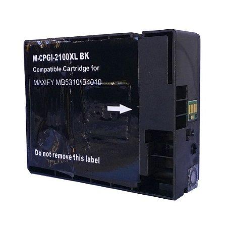 Cartucho para Canon MAXIFY | PGI-2100 XL Preto Compatível 80ml