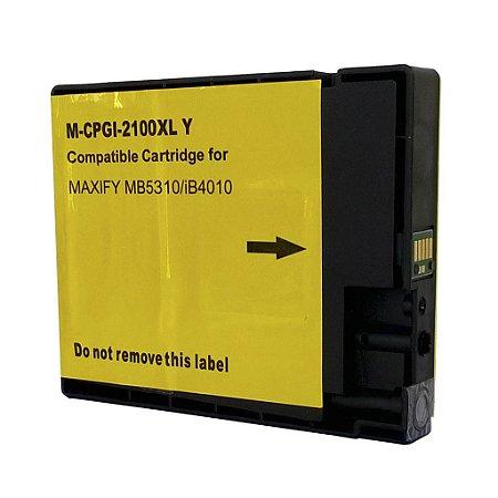 Cartucho para Canon iB4010 | PGI-2100 XL Amarelo Compatível 25ml