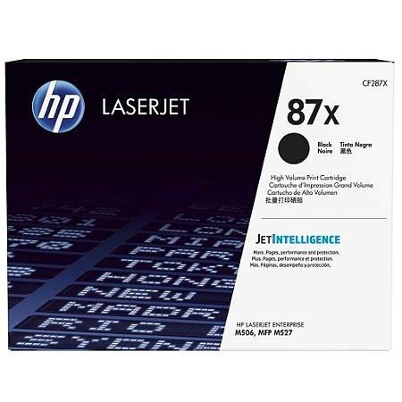 Toner HP M527dn | CF287X | M506dn | 87X LaserJet Original